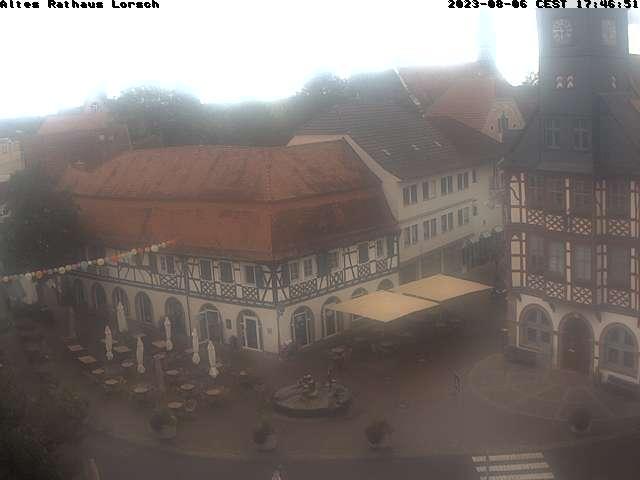 Webcam Altes Rathaus Lorsch